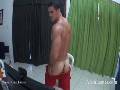 Hot Latino Hunk Bust F