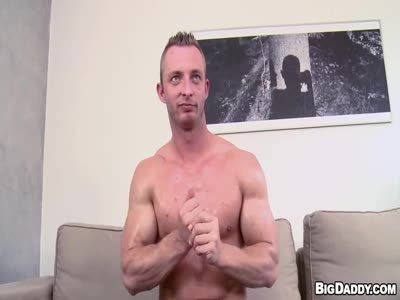 Muscular Man Dildo For