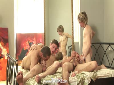 Bedroom Orgy