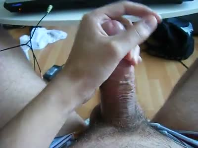 Jerking With Lube