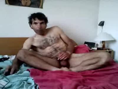 Stroking On My Bed