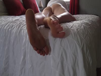Showing My Feet And As