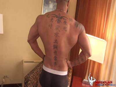 Ebony Muscle Hunk