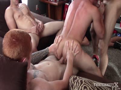 Horny Frat Boys Fuck -