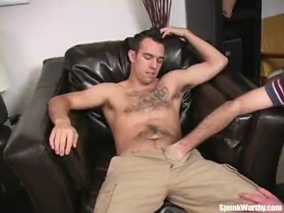 Gay Helping Hand Masturbation