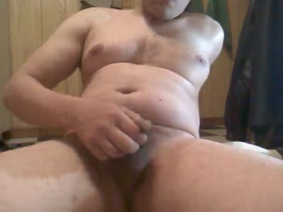 Jerking Soft Cock And