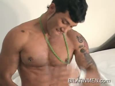 Latino gay show with awesome barebacked sex 10