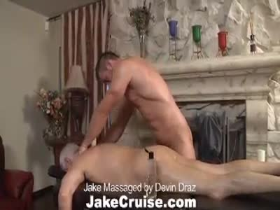 Jake Massaged By Devin