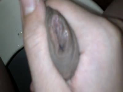 Playing With Foreskin