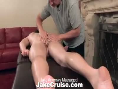 Jake Andrews Massaged