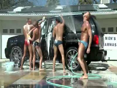 A Slip At The Car Wash