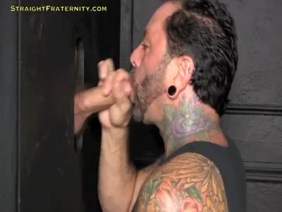 Allen At The Gloryhole