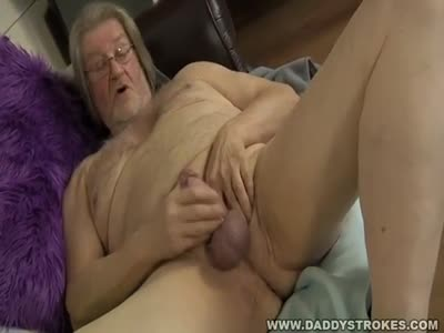 Chubby Daddy Jerking O