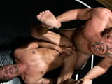 gay porn Wrestling Hunks 02 - P || Some wrestling holds and postures before the final cum show!