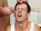 gay porn Come In Episode 04 || The boy has to shower with steamy-hot and cold water. He gets brutally deep-throated and fucked. The soldier can see the terror in the boys`s eyes. Finally he shouts his load right into the face.