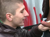 Gay Porn from outinpublic - Getting-Ass-In-The-Alley-Part-1