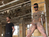 gay porn Logan Mccree || The world famous Logan McCree gets tied up, suspended, flogged and edged.