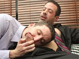 gay porn Customer Satisfaction  || Tony Hunter Is a Full Service Interor Decorator, He'll Do Your Office Space and Then He'll Do You, Too! He and Mike Manchester Get Hot and Heavy on the Couch. Tony Sucks His Employer's Dick After They Strip Away Most of Their Suits.<br />