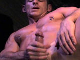 gay porn Alpha - Part 3 || Extremely fit man with nipple piercings uses toys to get off
