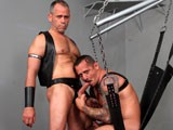 "gay porn Brent Chaps And Kyle S || Perfect Sweaty Settings to Have Kyle Savage Fuck Brent Chaps. the Two Rev Each Other Up With Some Hot Dirty Talk. Kyle Is Well Known for His Ability to Beg for What He Wants, ""fucking Taste My Ass"" He Tells Brent. Both Are In Agreement, Today on Daddyraunch Both Will Have a Good Fuck. ""fuck I've Got to Taste That,"" Says Brent as He Sucks Kyle's Sweet Cock and Pops His Balls. the Camera Shoots Overheard to Get a Perfect Angle of Brent on Kyle as Brent's Cock Pushes to Release Itself From His Leather Jock Strap., Brent Then Bends Kyle Over a Bench To, ""taste That Beautiful Hole."" ""i Want You to Pound My Hole,"" Begs Kyle. ""get In the Sling,"" Commands Brent; He Then Has Kyle Open Wide and Eats Him Out. ""make That Hole Want That Cock,"" Says Kyle, Brent Obliges, First With His Fingers, Then With His Cock. ""open Up for Daddy,"" Tells Brent as Kyle Spreads Even Further. Brent Stands Up and Slides In; the Below Shot Confirms He Starts Out Balls Deep and Never Lets Up; ""just Fuck My Hole"" Pleads Kyle. From Above Bent Grabs a Bar to Leverage Himself as He Takes Kyle. ""fucking Take It,"" Demands Brent as He Pounds Kyle; the Bottom Just Keeps Asking for More. Brent Then Pulls Out His Cock, Inserts His Fingers and Sucks Kyle's Balls. It's Not Long After, Kyle Blows Streams All Up on His Chest; ""ah Good Work"" Comments Brent. Brent Then Has Kyle Bend Over as He Fucks Him From Behind; a Nice Tight Shot of the Two Is Filmed From Below, Balls to the Wall. Kyle Bounces Back to Catch Brent's Cock Thrusting Forward. Brent Starts Pulling on His Own Nipples as He Demands Kyle To, ""open Up and Take It."" Brent Slaps Away as He Grabs Kyle's Harness and Shoves. Taking a Tug Before He Goes Back In, Brent Then Blows His Load While Inserted; Both Moan With Pleasure. ""god That Feels so Good,"" Yells Kyle. Brent Then Takes a Look and Taste of His ""hard Work."" ""push It Out,"" Says Brent, Licking the Rewards. the Two Then Share the Cum In a Hot Tongue Swapping Kiss. Download This Video and More Here!"