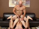gay porn Jet And Tatum Raw || I thought I would put Jet and Tatum to work on the couch. Both guys love to fuck and get fucked, so I knew they would be properly motivated to work some fun butt-fucking positions.