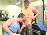 Gay Porn from outinpublic - Two-Hot-Gym-Guys-Fuck-Hard-Part-1