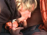 Gay Porn from outinpublic - Bare-back-Ski-Mountain-Part-1