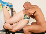 gay porn Crusing For Cock || Ryan Russell is hanging around, up to no good, just waiting for trouble to come along and find him one afternoon when Lawson Kane comes around the corner. Upon seeing Ryan, Lawson stops in his tracks and watches as Ryan puts on a show. Convinced of Ryans motives, Lawson approaches and in no time, the guys have moved up to Lawsons flat. Ryan strips out of his clothes as he strokes Lawsons cock through his shorts, dropping to his knees and downing Lawsons cock with his mouth. Lawson grows as Ryan throats him, then he returns the favor, pushing Ryan up against the wall as he spreads his cheeks and eats his ass before standing up and sliding his cock in. Pumping Ryans ass against the wall like that, Lawsons body tingles and flexes with each thrust, and Ryan feels the full meat of Lawsons offering with every push. Ryan loses his nut all over the floor as Lawson continues to fuck him until hes bone dry, then its Lawsons turn, pulling out and shooting a load up Ryans back as Ryan dismounts just in the nick of time.