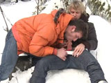 Gay Porn from outinpublic - Bare-back-Ski-Mountain-Part-2