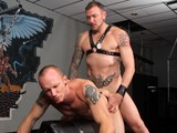 gay porn Mason Garet Clark Long || Clark Longhammer and Mason Garet Are Getting Fucking Loud and Proud In a Smelly Locker-room. In This Daddyraunch Video, These Two Are Animals After Each Other; Mason Doesn't Even Bother to Pull Down Clark's Jock Strap Before He Swallows His Partner. <br />&quot;give Me Those Fucking Pits,&quot; Demands Clark; Both Go Face Deep Into the Sweet Sweaty Manly Scent. He Then Bends Mason Over, Spits and Eats Deep. Grabbing Mason's Shins for Leverage, Clark Is All About the Hole. on a Fuck Bench, Clark Is Sucking and Spreading Mason Wide. He Then Claims Mason's Hole as His Own and Works Toward Marking His Territory.<br />as Clark Takes Possession of Mason's Canal, He Is Balls Deep and Complimenting His Partner On, &quot;taking That Dick Well.&quot; Mason Is Enthralled With Each Thrust of This Pounding. Being a Great Bottom, the Only Thing Mason Keeps Saying Is, &quot;yeah.&quot; Bouncing Back Onto Clark's Cock, Mason Is Having the Fuck of His Life. Owning Mason's Ass, Clark Reminds His Partner Who's In Charge, &quot;feel My Balls Slapping Against Your Ass?&quot; Mason Replies, &quot;yeah&quot; and the Two Keep Going.<br />the Pair Move to a Sling; the Chains and Leather Bounce as Clark Plunges Back Into That, &quot;sweet Hole.&quot; the Bottom Is Moaning on a &quot;hole&quot; New Level as Clark Pounds and Demands, &quot;fucking Take It.&quot; Clark Then Pulls Out In Time to Spray His Partner and Reenter. Mason Cums Next, Tugging Feverishly on His Cock as He Is Finger Fucked by Clark; &quot;fucking A, Gonna Finish What You Started Boy&quot; Remarks Clark. Palpating Mason's Prostate, He Blows a Load All Over Himself and Is Rewarded With His Own Load, Courtesy of Clark. the Two Then Congratulate Each Other; Mason Goes Into Spasms as Clark Licks and Sucks Again, Head to Head. Download This Video and More Here!