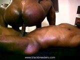 Massive Black Anal Ride ||