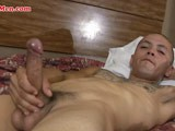 Check Out This Latino Thug With a Big Fat Uncut Dick Stroking His Dick for You on Camera. Check Out This and More At Bilatinmen