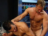 gay porn Titan Jason Hawke And  || In RX, we meet for the first time TitanMens new exclusive, Marcos David. Seems Marcos has a bit of a problem -- the Latin stud's rock-hard, uncut cock just wont go down! Luckily, his attending physician, stacked hottie Jason Hawke will! Hawke tries examining Marcos' massive meat with all the tools of the trade: a stethoscope, a reflex hammer -- he even cuffs Marcos shiny, pulsing rod in a sphygmomanometer and checks its blood pressure! With no instruments left with which to tinker -- besides his own rock hard man meat -- the horny doctor decides to give Marcos a vigorous anal probing all in the interest in science, of course. But even after a furious flip-flop fuck and a double load-blow, Marcos' monster cock remains determined, tall and rigid! Whats UP doc? Marcos cock!