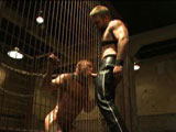 gay porn Dirk Caber And Chad Br || Chad Brock is tied up, zapped, caned and fucked by Dirk Caber