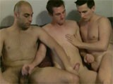 John, Will and Eric Get Into a Very Hot 3 Way At Home Private Amateur Session !