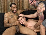 It's the First Time Anthony and Ace Ever Did Anything With Another Guy, and the Pledgemaster Captures It All on Camera. Ace Is Hung and Full of Cum, so When Anthony Gets a Little Camera Shy, He Has Ace Shoot His Second Huge Load All Over Anthony's Face.