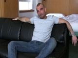 gay porn Rocco Jerks It || Up Close With Italian Newcomer Rocco. a Real Man for Real Men