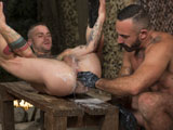 Gay Porn from ClubInfernoDungeon - Fire-In-The-Foxhole-Scene-3