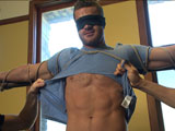gay porn Landon Conrad || Super hunk Landon Conrad tied up and edged for the very first time