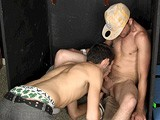 gay porn Marky And Denim || Marky and His Bisexual Roommate Denim Have Fooled Around Before When They Were Drunk, so When Marky Has Trouble Performing on Camera, the Pledgemaster Sends Denim Into the Scene to Help Him Get Off. the Roomies Really Make Out, and After Some Cocksucking and Ass Play, Marky Blows His Load In Denim's Eager Mouth.