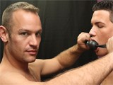 gay porn The Safe Word Is Purpl || Austin Tyler Was In the Mood to Be Bond and Properly Punished, so He Hired Daddy Tucker Mckline. Austin Has His Smooth Latin Ass Paddled Until It Turns Bright Pink Before He Gets Down on His Knees to Suck Tucker's Cock.