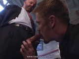 Gay Porn from BearBoxxx - Suited-Daddy-Get-A-Good-Blow