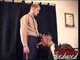 gay porn Dress Blues || C.j. Is Dressed In His Marine Uniform Resplendent With Merit Badges and Awards. He Looks Good Enough to Eat so I Waste No Time: I Unzip His Trousers, Pull Out His Cock and Chow Down on It! Now Stripped Naked, C.j. Lets Me Suck and Stroke and Slurp Up 'n' Down His Rock Hard Piece Till He Releases His Massive Payload. C.j. Has Passed With Flying Colors and - Who Knows? ­- Maybe Someday I'll Introduce This Young Marine to My 'secret Weapon'! Straight Str8 Gay4pay Blowjob Sucking Fucking<br />