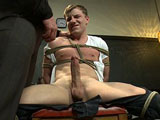 gay porn Adam Herst And Doug Acre || Doug Acre gets bound and fucked by his hot biology teacher Mr. Herst