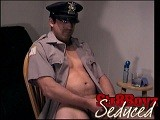 gay porn Sucking Zack || Before He Lets Me Bind Him Up, Officer Zack Wants to Watch Some of the Porno Flick and Pull on His Cock to Get It Hard. as Soon as He's Ready I Tie His Hands and Blindfold Him Before We Continue. His Cock Swells Up In My Hands as I Jerk It and Lick the Head. When I Go Down on Zack He Starts Fucking My Mouth and In No Time He's Moaning Loudly and Shooting His Load on My Lips. Straight Str8 Gay4pay Blowjob Sucking Fucking<br />