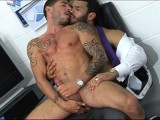 gay porn Caught Out || Caught Out, Jean Franko, Johnny Hazzard, Menatplay, Fetish, Suit, Socks, Tie, Shoes, Shirt, Jacket, Jerking Off, Fucking, Porn Stars, Gay