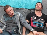 Trouble In Paradise Means Tristan Jaxx Is Left With Only His Hand to Get Off. That Is, Until His Buddy Alex Andrews Suggests They Try a Little Game He Used to Play In College. Jerking Each Other Off Turns Into Sucking, Which of Course Turns Into Fucking!