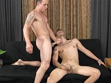 gay porn Ty Tucker And Trevor || Hung, Straight, 20-year-old Trevor Has Agreed to Push His Limits a Little More Today, so the Pledgemaster Hooks Him Up With Gay-for-pay Stud Ty Tucker. It's Time for Trevor's First Taste of Dick.
