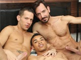 gay porn Boyfriends Bryan And S || Boyfriends Bryan Slater and Shane Frost Have a Sexy Young Lad Staying With Them, and Their Kindness Soon Pays Off When They Discover That the Lad Is Just as Into Cock as They Are! the Action Starts Right Away, With the Older Guys Teaming Up to Welcome Their Young Guest In the Best Way Possible. Rimmed Out and Fed Plenty of Cock, Young Robbie Anthony Is Swapped Between Them as They Slide Into His Ass and Mouth and Work Their Way to a Three Way Cum Splashing!