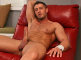 gay porn Simply Sensuous || Sometimes Cody Cummings likes to take things down a notch, do some relaxing, and just bring some real sexiness to the table. Thats what hes doing this time as he slowly strips down in his office. The late afternoon sun is just about to set and the light is pouring in through the blinds, dancing off Codys luscious, tan skin. Hes inviting you to join him as he fattens up his large dick for some hot stroking. Youll get to see him, wearing only black dress socks, jerking his meat with a strong fist, massaging that massive cock. Then take a look at his muscular but round ass as it moves back and forth, pushing his erect meat into his hand. This is an extremely sexy, highly erotic session. Make sure youre ready for Codys unique brand of incredible solo sensuousness.